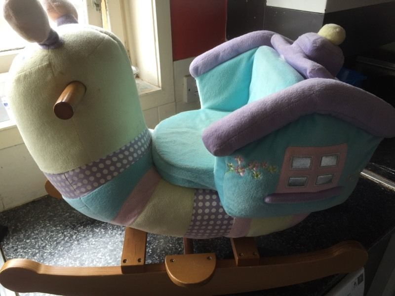 Baby/ toddler snail rocker