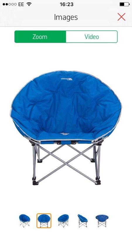 Wanted Camping Chairs