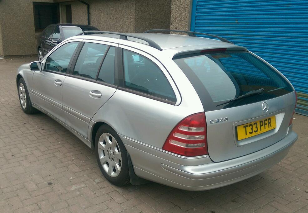 Mercedes C 320 Estate *105k* *1yr Mot* *Private Plates*