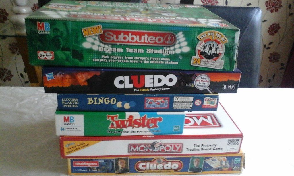 Selection of board games
