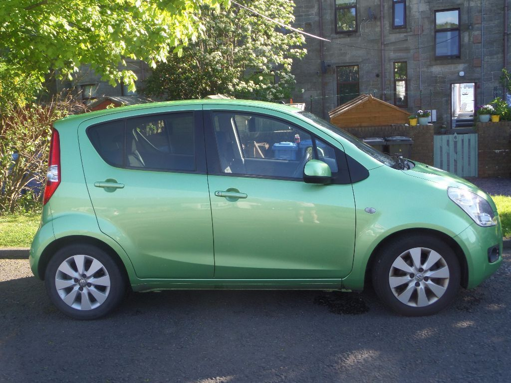 Suzuki Splash GLS+ 1.2L 2010. Petrol, manual, 5DR hatchback, 45000m, Green.