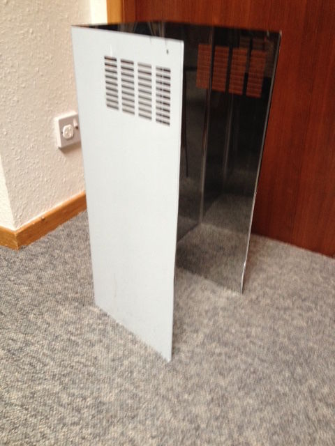 Cooker hood vent cover