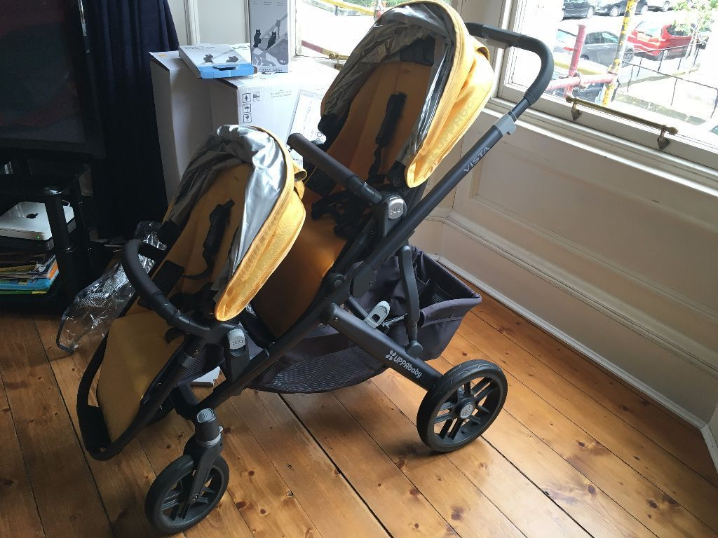 Uppababy vista 2015 double