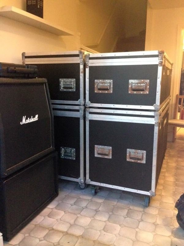 4 X Large Flight Cases