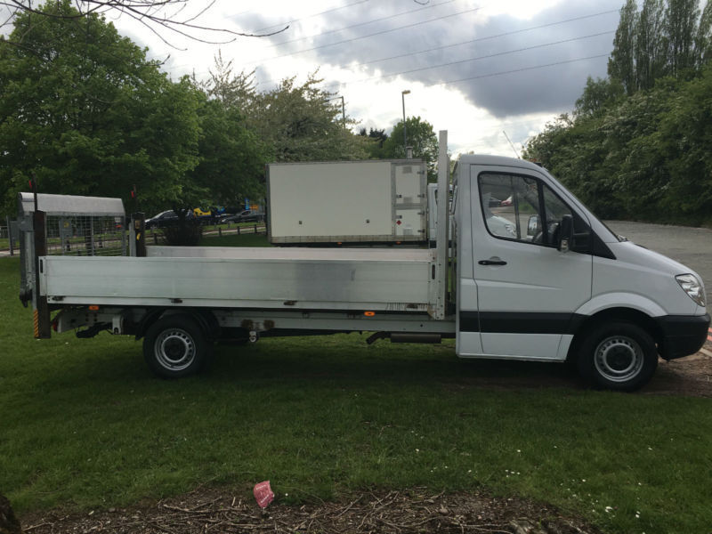 Mercedes Sprinter 311 CDI LWB 13ft 6in Dropside Tail Lift Only 25776 Miles