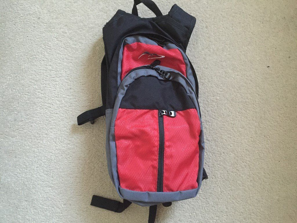 Compact slimline rucksack backpack bag bike cycle
