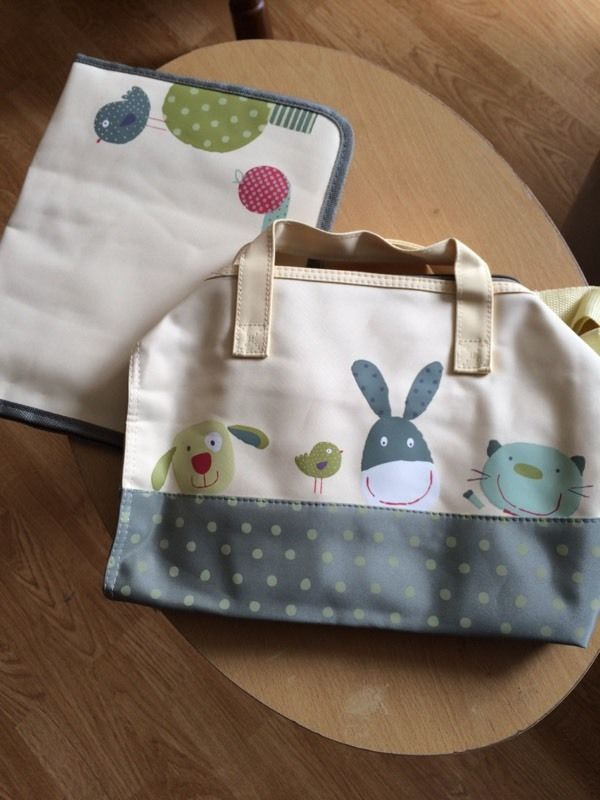 Baby changing bag and Mat.