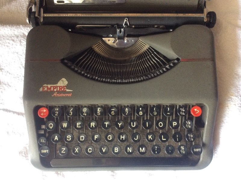 Vintage small typewriter