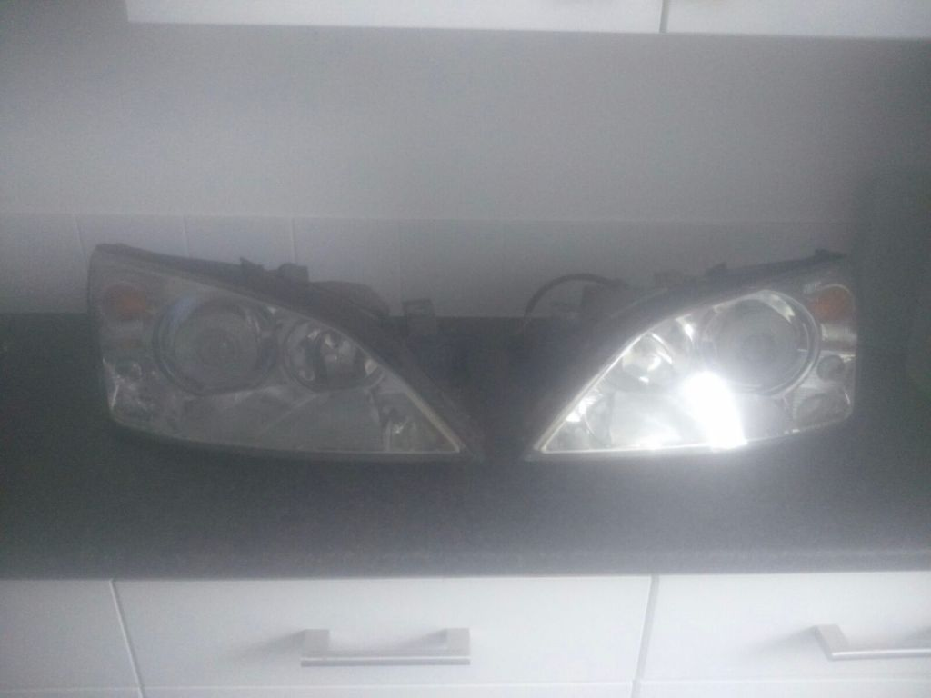 Hid xenon converted lights for ford mondeo