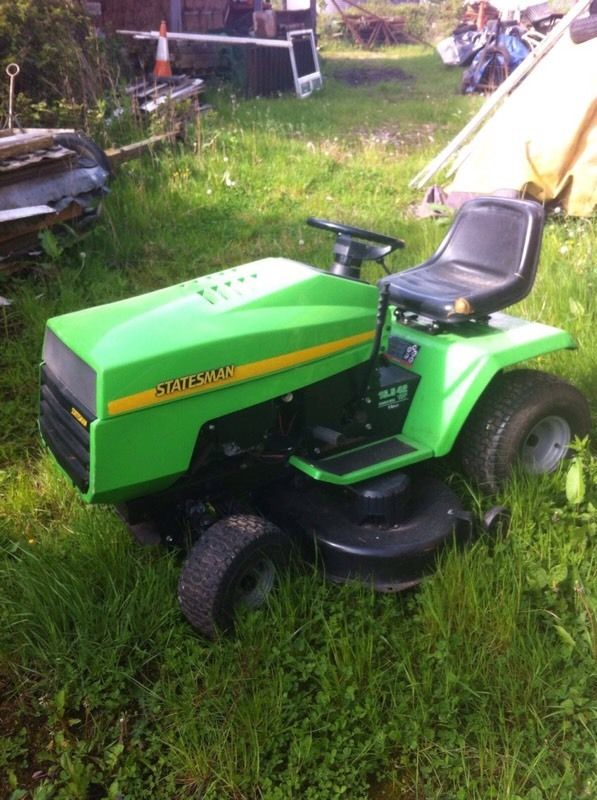 Ride on lawnmower!
