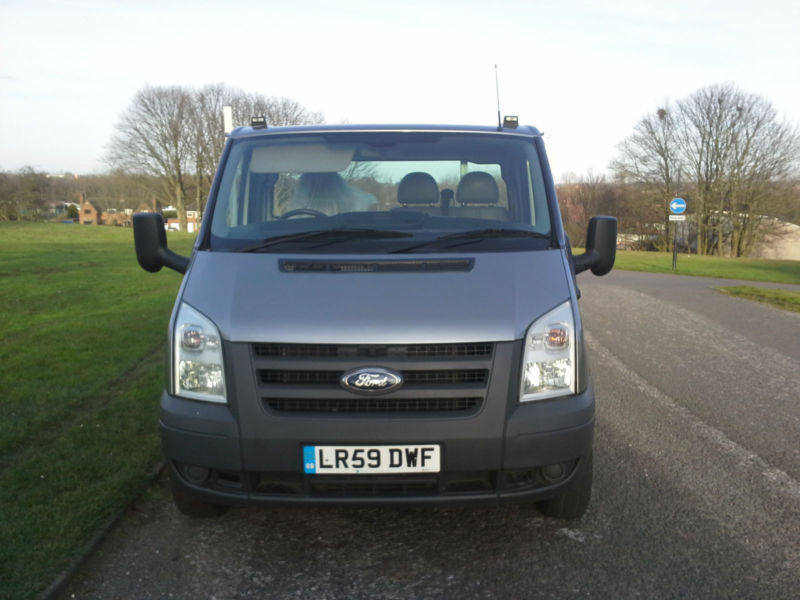 Ford Transit 350 3.5T 2.4 Massive 20ft (6.1m) Dropside, New Body + Load Cover