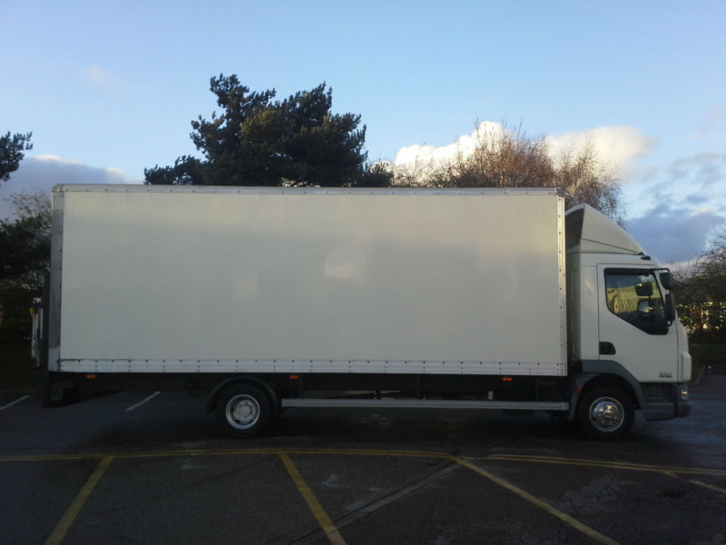 DAF LF45.160 7.5T 24FT Box Van With Tail Lift, Very Clean Truck
