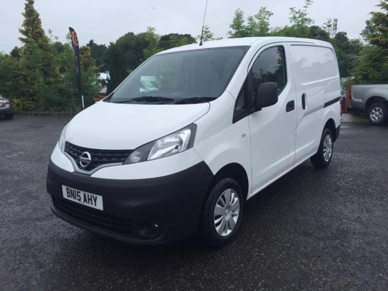 2015 NISSAN NV200 1.5 DCI ACENTA SMALL PANEL VAN