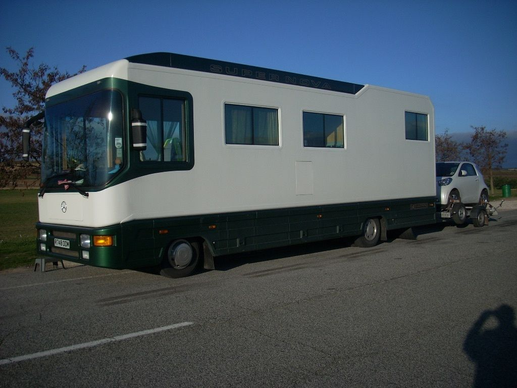 Mercedes Luxury Motorhome FSH 66,000miles Automatic
