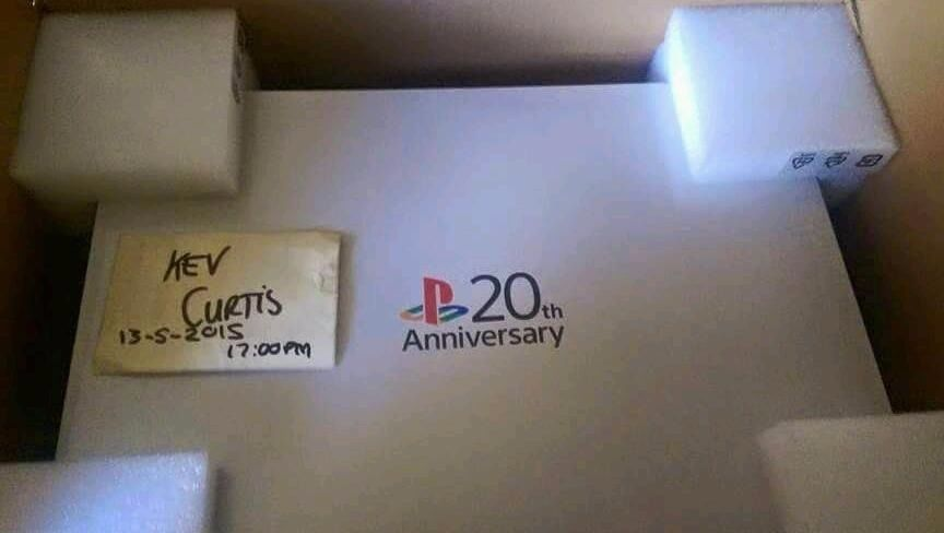 PS4 Anniversary Edition (20 Years Of Characters Win) More Rare. Chance at low number