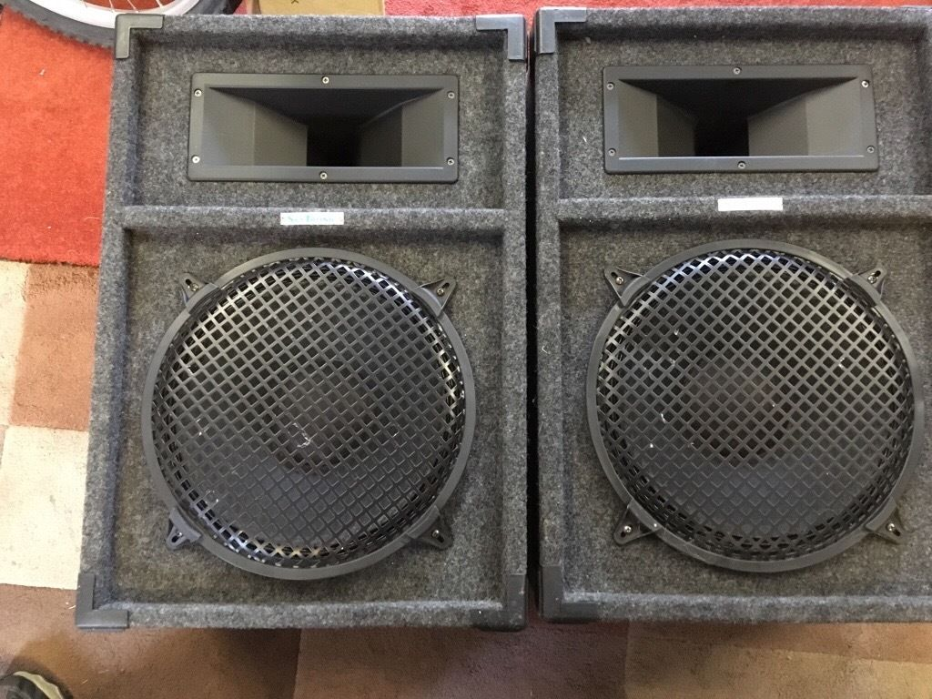 Skytronic Disco PA Speakers