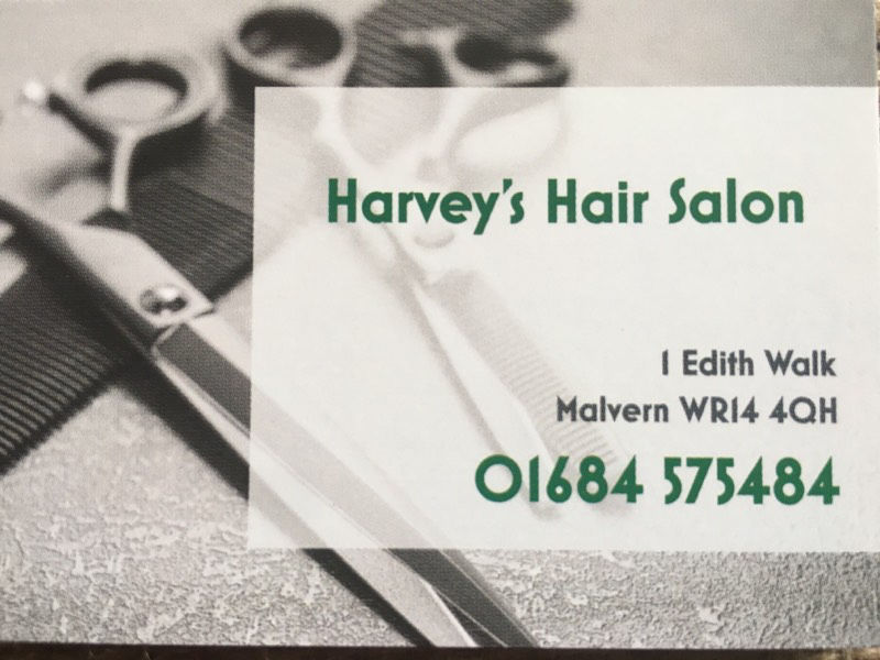 Harvey's hair salon