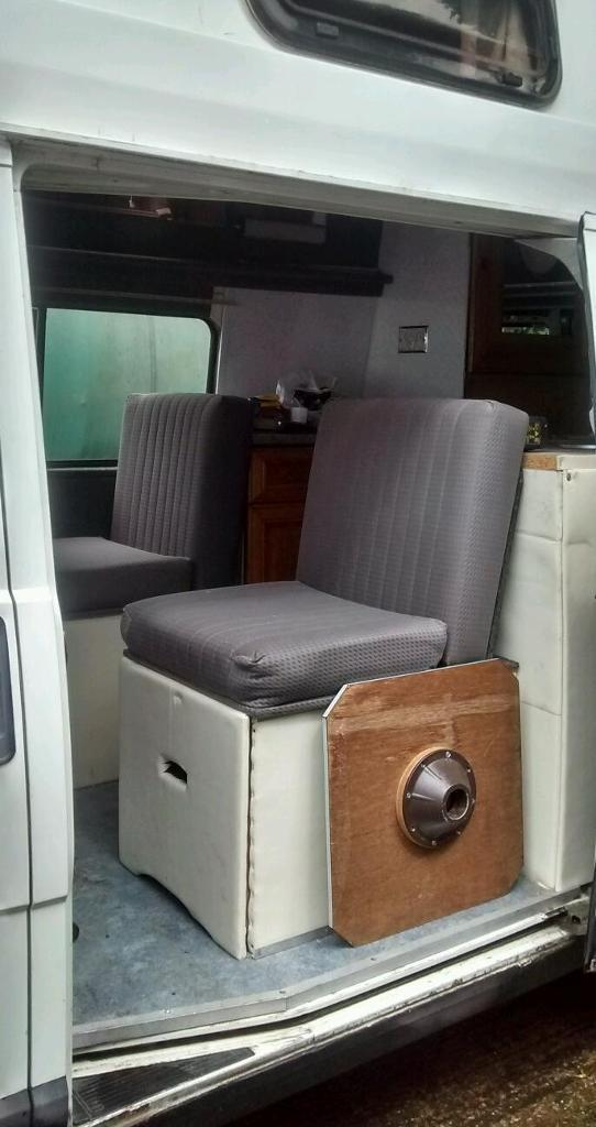 Fiat Ducato campervan needs some work to finish run's and drives good