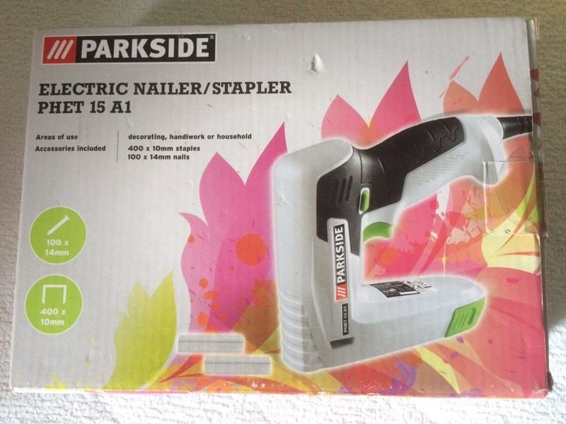 Parkside PHET15A1 Electric Nailer/Stapler