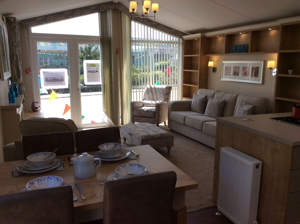 STUNNING LODGE Holiday Home Static 14ft Beautiful Sea View Park *FINANCE PACKAGES* East York Coast