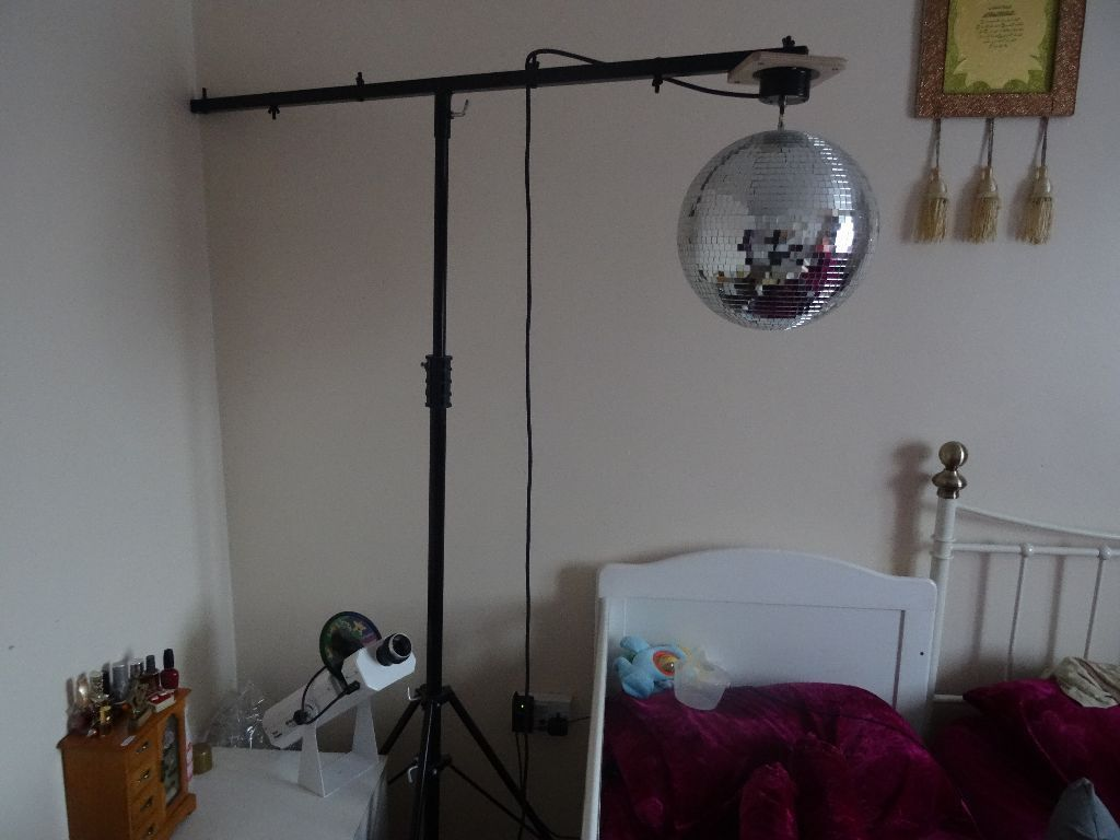 Mirror Ball + Stand (for special needs children)