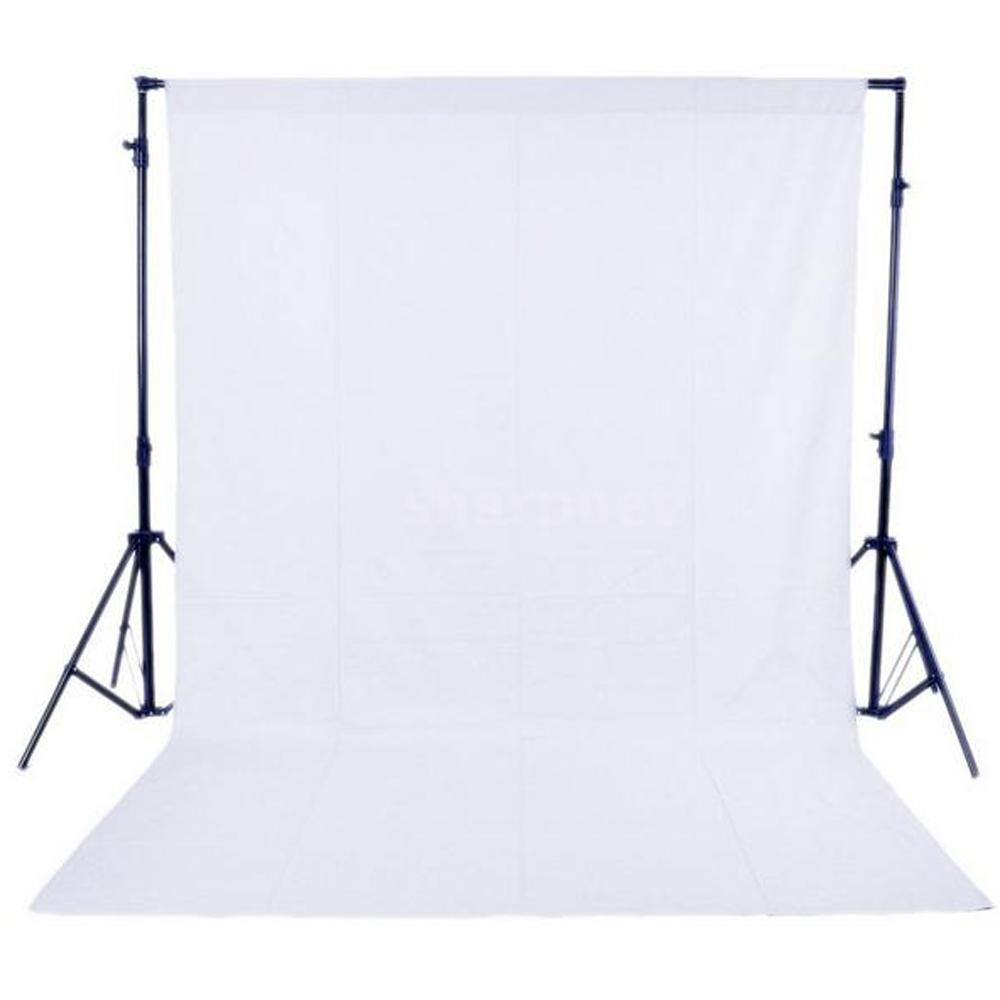 New 6m x 3m Photo Lighting Studio White Screen Background Backdrop Photography