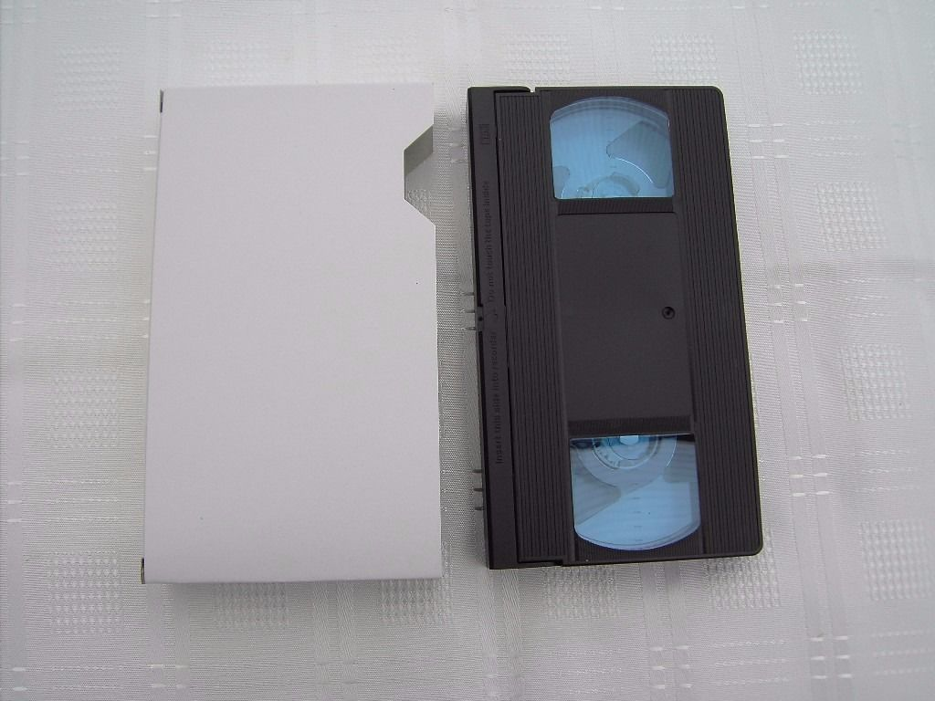 Box of 80 Blank New VHS Video Tapes 30 minutes