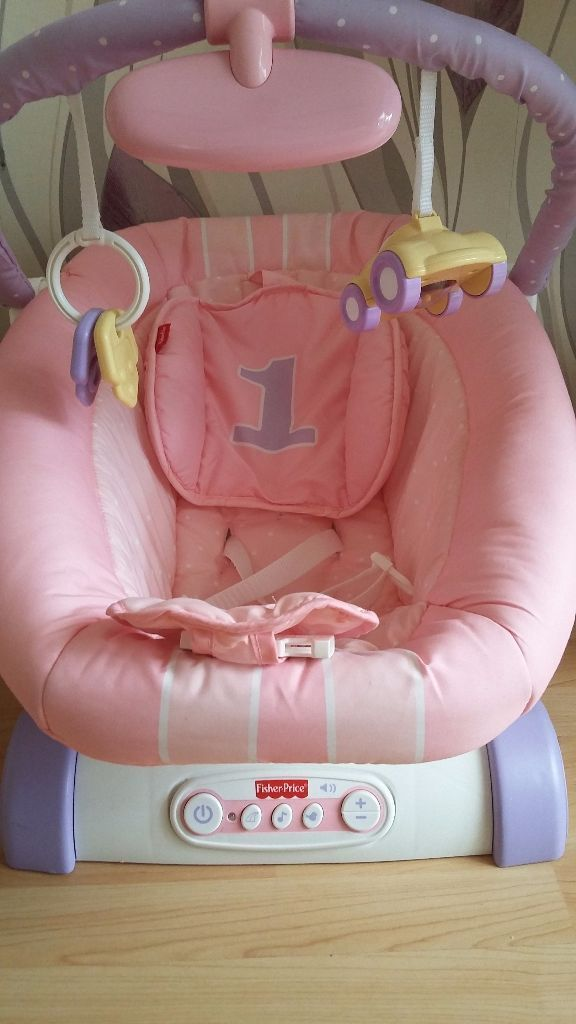 Pink Baby Bouncer fisher price