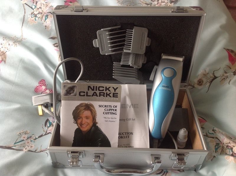 Nicky Clarke electric hair clippers