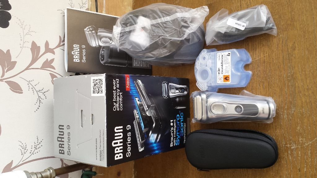 Braun series 9 wet and dry shaver 9095CC