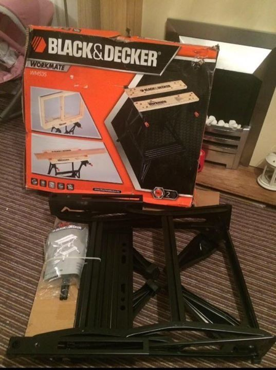 Black and decker workmate, brand new with box damage!