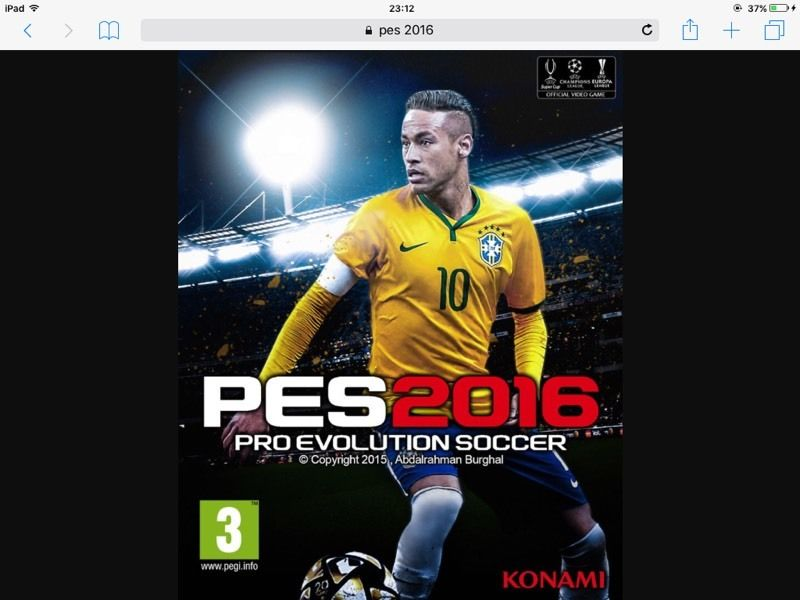WANTED PES 2016 FOR PS4