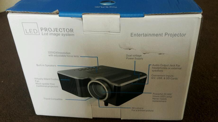 "60"" led projector"