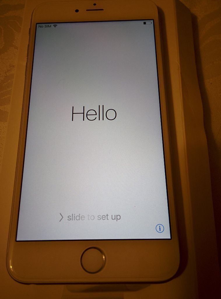 Apple iPhone 6s Plus 16gb Silver brand new
