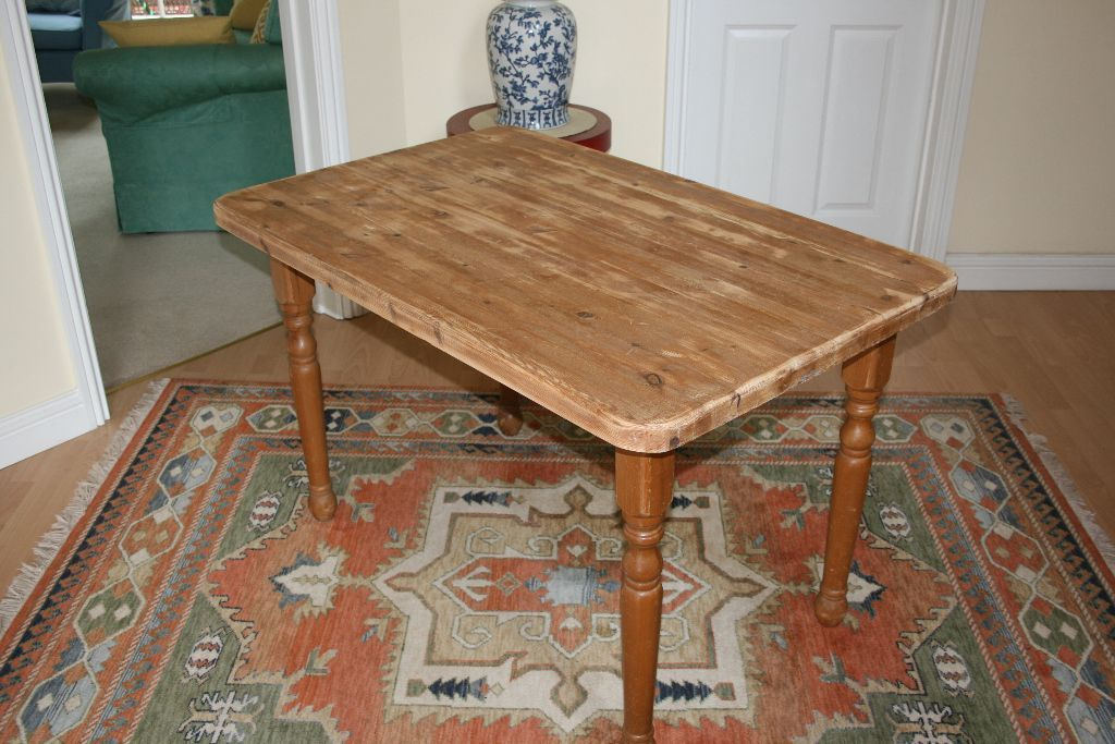 Solid Pine Kitchen (dining) Table