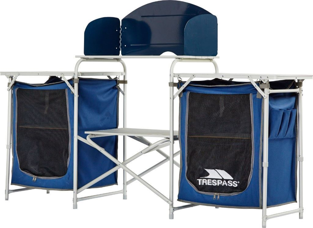 Trespass Folding Camping Kitchen Used Once Excellent Condition