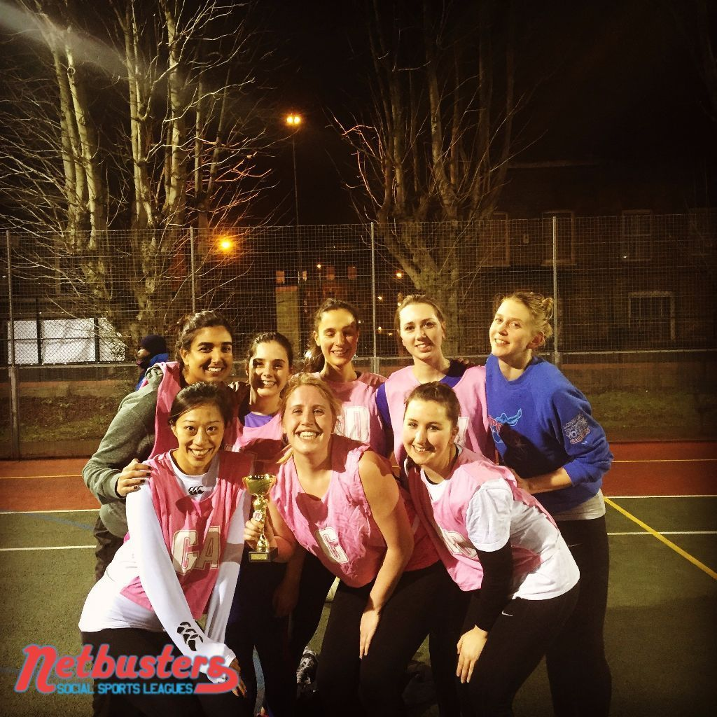 Competitive netball league in Brixton