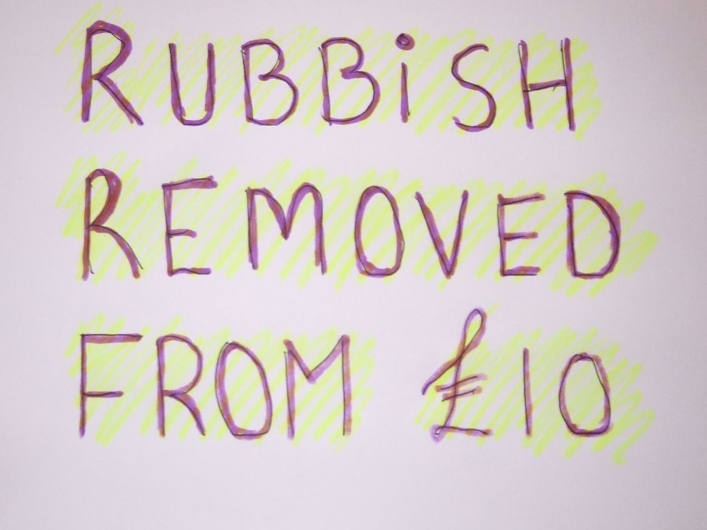 RUBBISH REMOVAL & HOUSES CLEARED IN CARDIFF - CHEAP AS CHIPS