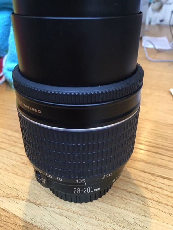 Canon Zoom Lens EF 28-200m