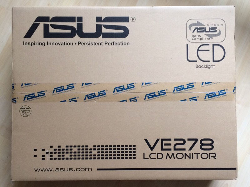 ASUS VE278H 27 Inch LED Monitor
