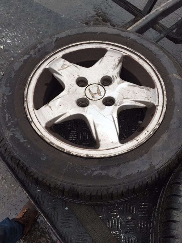 Honda alloys X 4 185