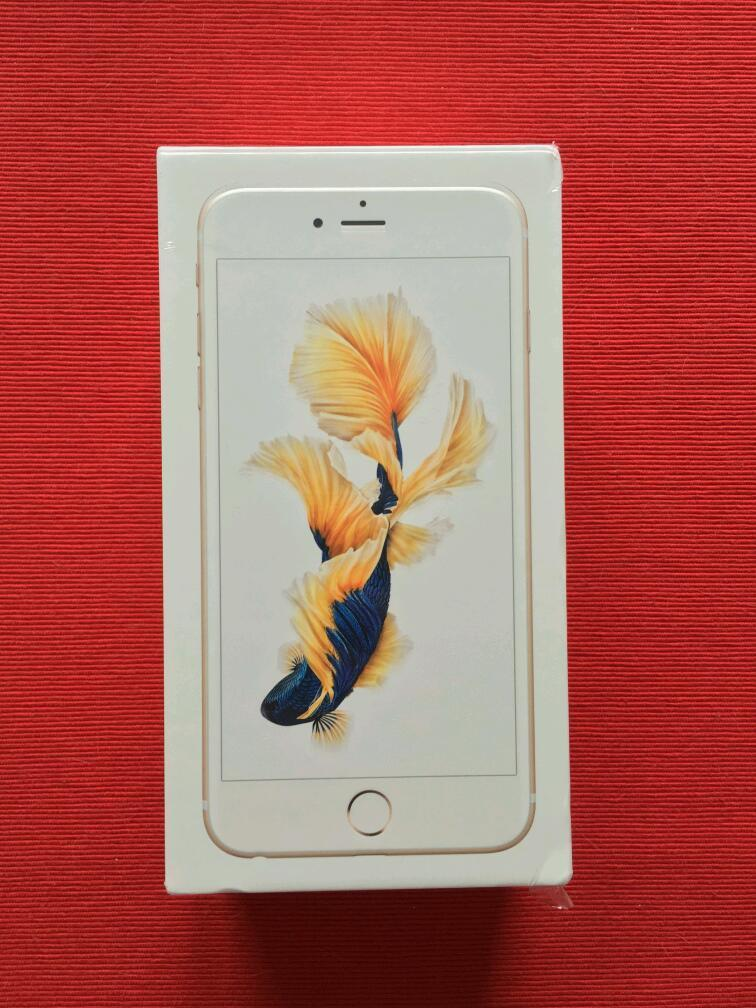 BRAND NEW BOXED - IPHONE 6S PLUS 128GB GOLD