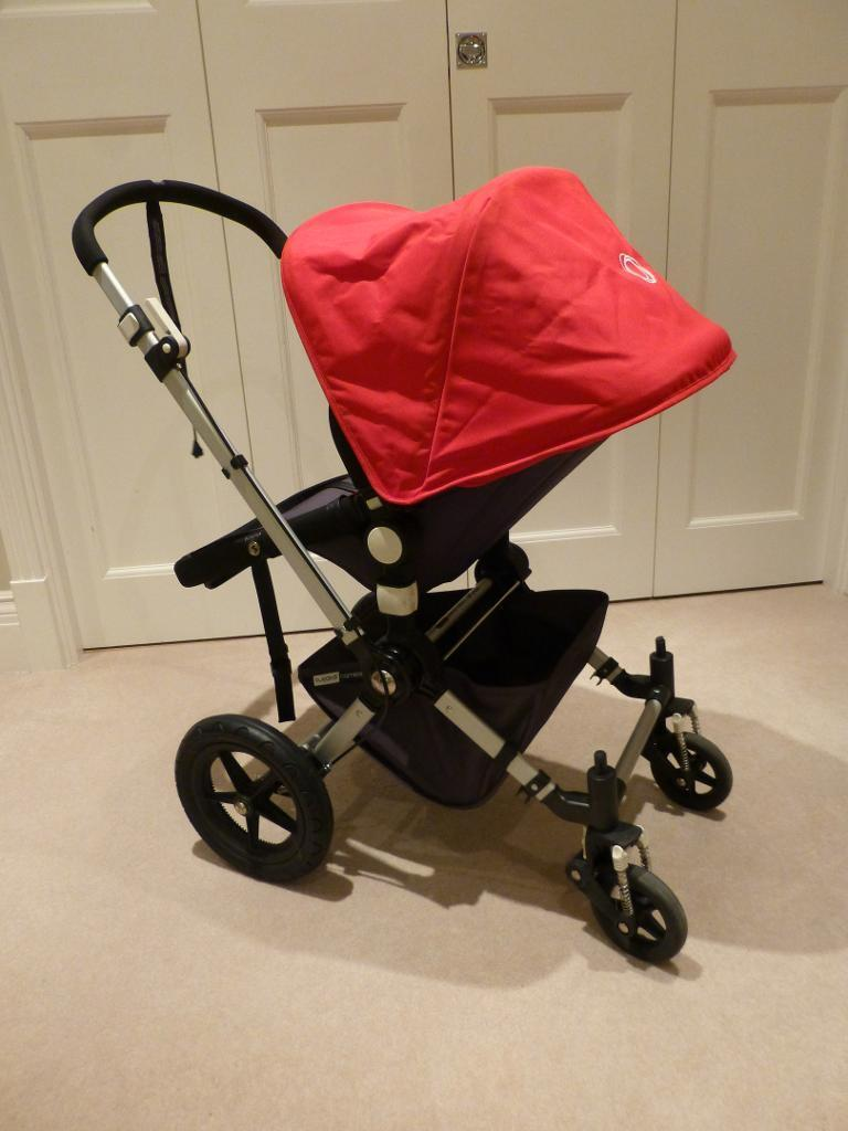Bugaboo Cameleon Red and Grey - As new!