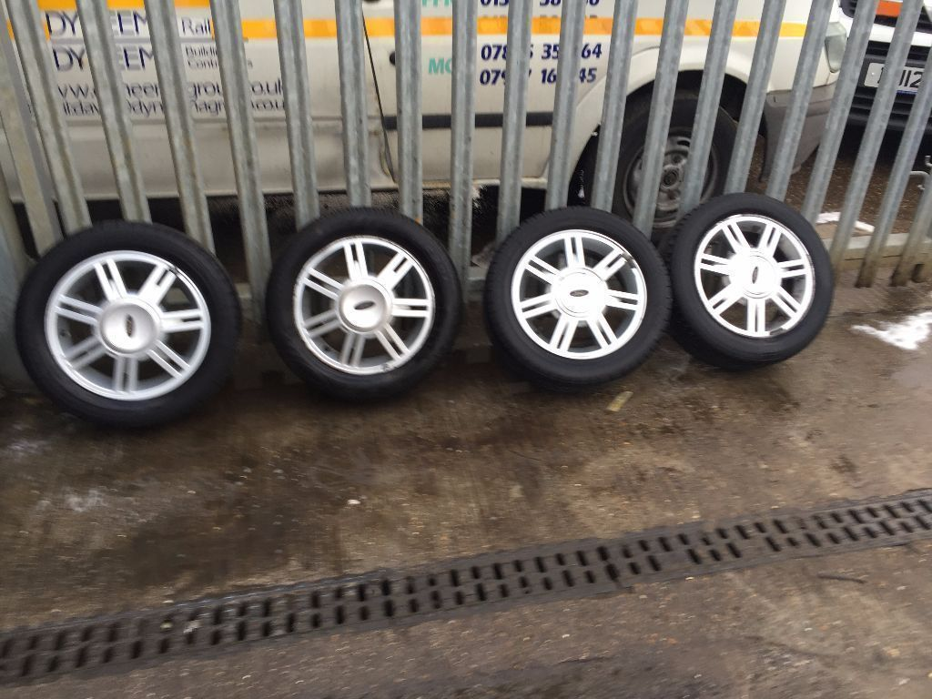 SET OF FORD FIESTA/KA WHEELS 14""