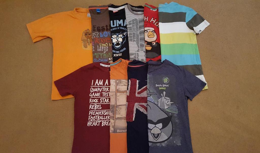 Bundle of boys clothes 9-10y