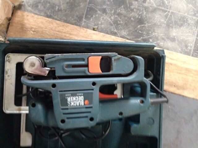 Black and decker belt sander