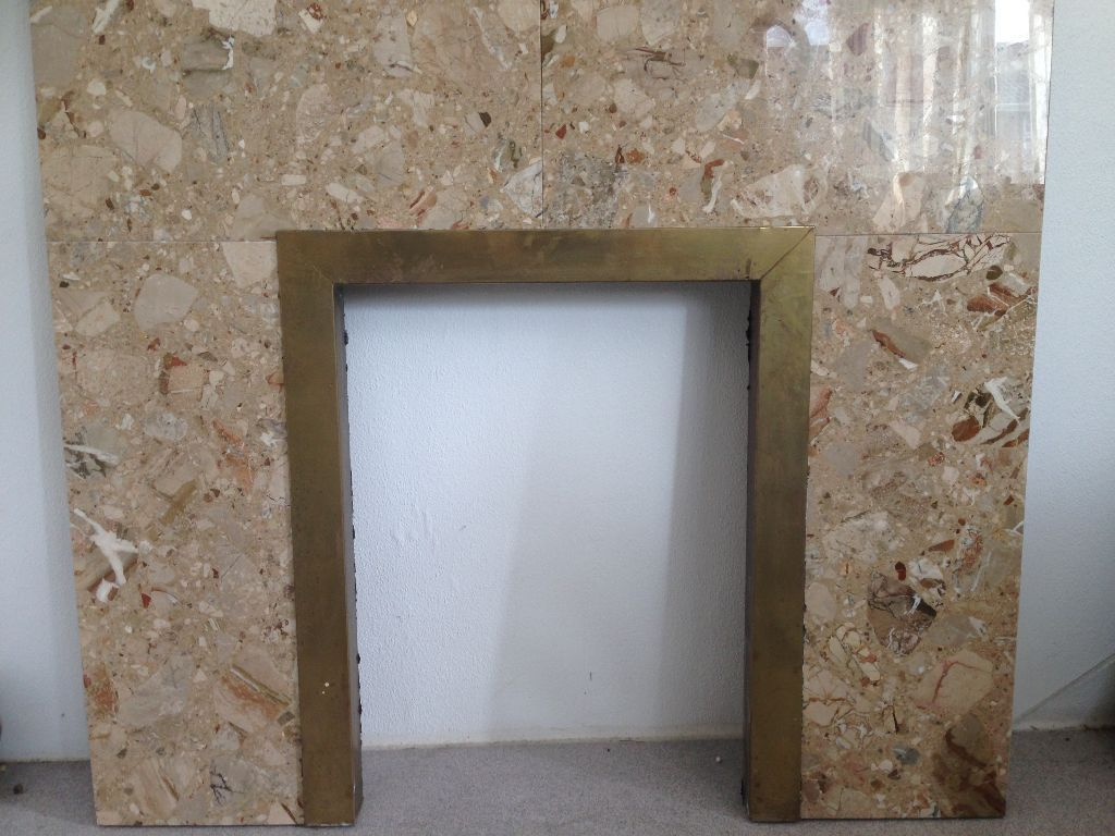 Marble Fire Back surround