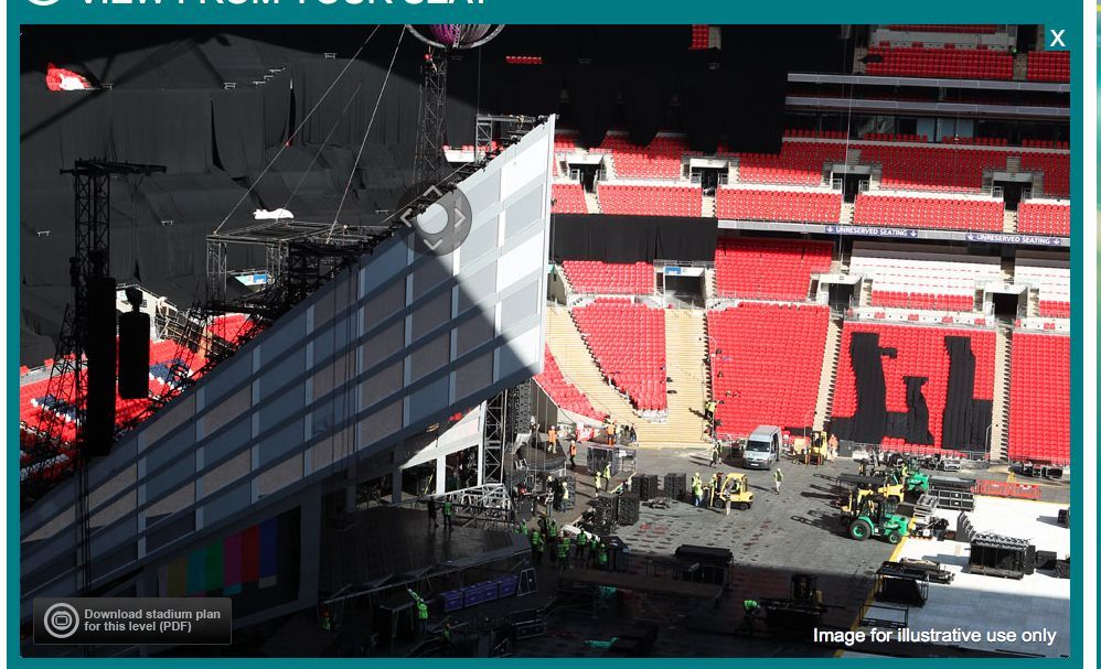 Rihanna FT Big Sean @ Wembley Stadium VERY CLOSE STAGE VIEW