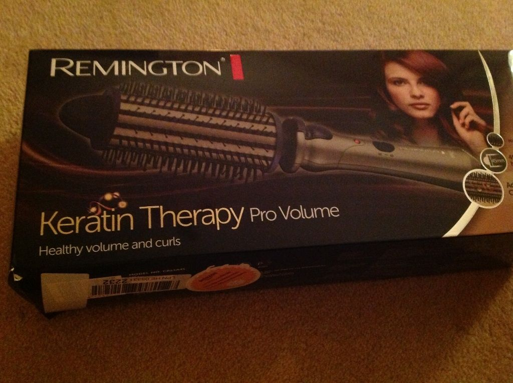 Remington Electric hot hair brush