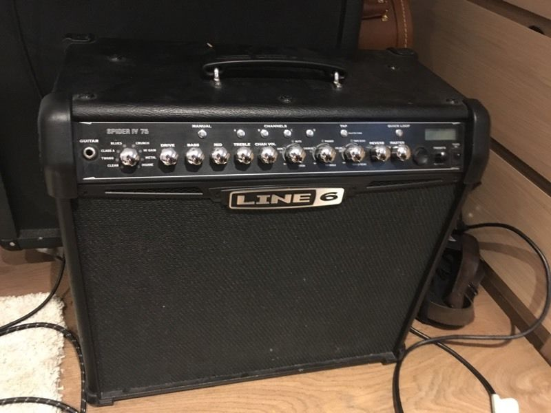Line 6 spider IV 75w combo